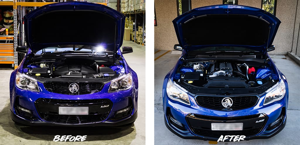 Before & After: TEKNO Performance Stage 3 5 PowerPack // Holden VF